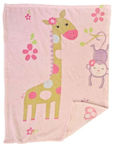 Baby Blanket (Giraffe) Super Soft Fleece Baby Girl's blanket/Cozy blanket/Crib To Toddler/Registry Gift For Boy and Girl/Super (A Baby Giraffe Blankets)