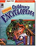 Learning Company Ultimate Children's Encyclopedia A Reference Tool Just For Kids To Use