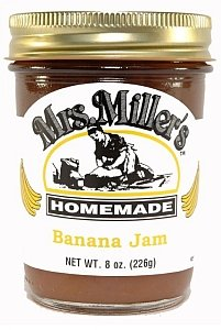 Mrs Millers Banana Jam 2 x 8 oz by Mrs. Miller's