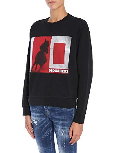 Femme Dsquared2 S72gu0166s25305900 Sweatshirt Coton Noir dPxSYqTZ