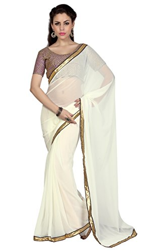 Bollywood Women's Indian Ethnic Designer Off White color ...