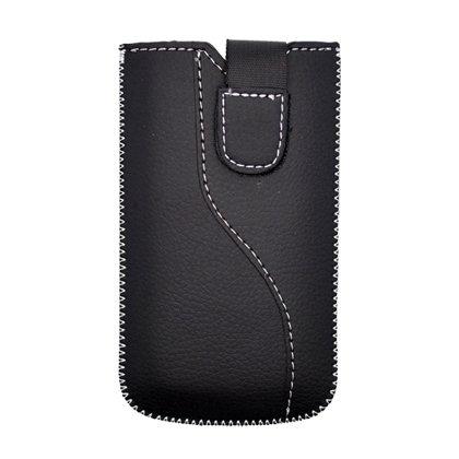 I325 Skin (For Samsung M910/ SCH-i100/ T479/ R710/ M570/ T939/ R850/ SPH-M800/ M550/ A827/ i325/ A657 Skin Sleeve Pocket, Black 116*55*14)