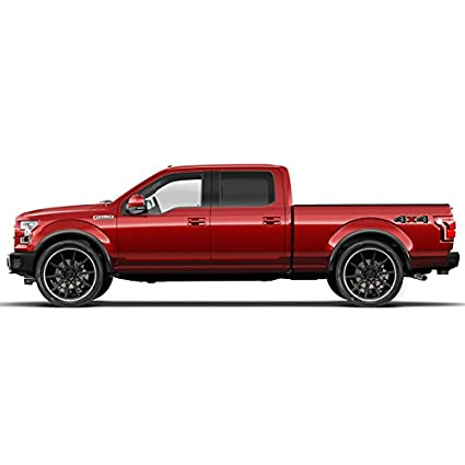 N1 Dawn Enterprises FE-F15015-SCC Finished End Body Side Molding Compatible with Ford F-150 BLUE JEAN