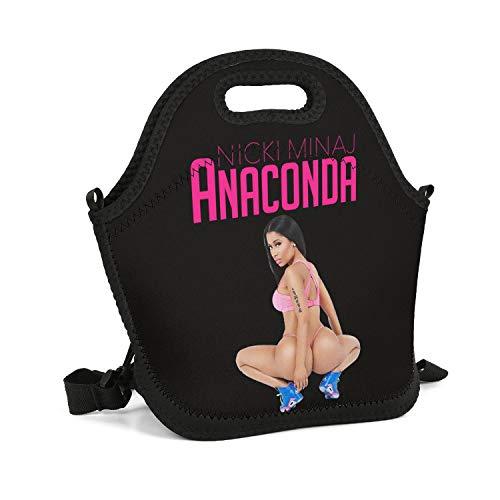 MUSOWIC Nicki-Minaj-and-Lil-Kim- Lunch Bag Insulated Thermal Waterproof Lunch Box Tote