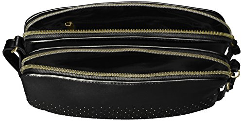 Jeans Double Cross Zip Shirt T Detail with amp; Body Black Stud EtwqgFRx4