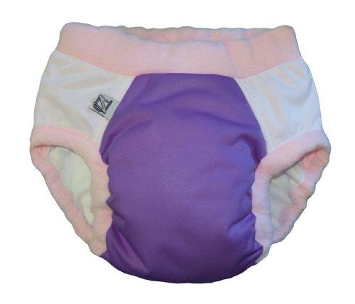 Super Undies (Super Undies! Bedwetting Pants Nighttime Underwear, Size 1 (Medium) Purple Pixie (Purple) 2-3 Yrs old)