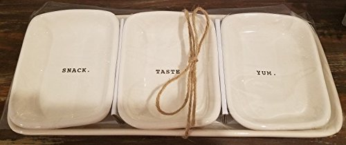 Products Serving Platters (Rae Dunn Artisan Collection 4-Piece Tray / Serving Platter Set 6