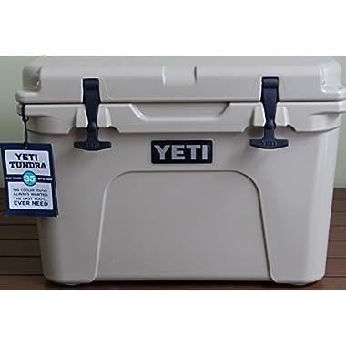 Yeti Tundra 35 Quart Cooler - Desert Tan