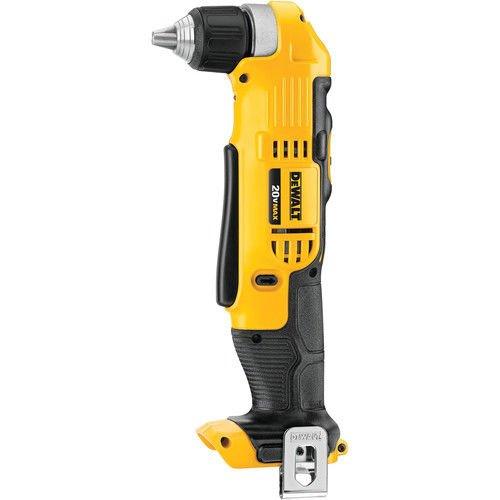 DEWALT DCD740B 20-Volt MAX Li-Ion Right Angle Drill