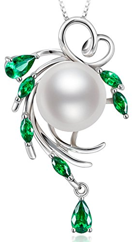 Cultured Pearl Pendant Jewelry (Sterling Silver Wreshwater Cultured White Pearl Pendant)