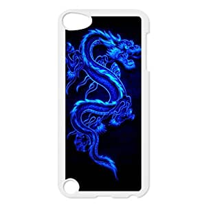 DIY The Western dragon Cool Picture For Boys Design Snap-on Hard Plastic Protective Durable Back Case Cover Shell for iPod Touch 5th-5