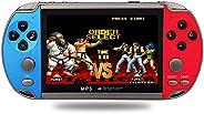 XUANWEI Consola de jogos X7 Plus de 4,3 polegadas Consola de jogos Nostalgic Classic Double Rocking HD Music p
