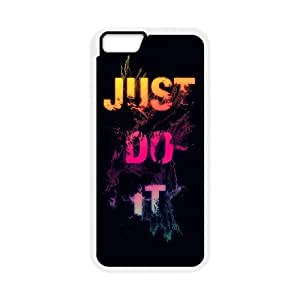 DIY JUST DO IT Theme Phone Case Fit To iPhone 6,6S , A Good Gift To Your Family And Friends