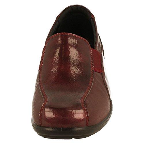COMBI 16 Padders Shoes Casual On Slip Skye WINE Womens wfrfSq8Y