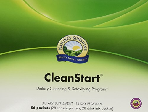 NATURE'S SUNSHINE Cleanstart Capsules, Wildberry, 56 Count Review