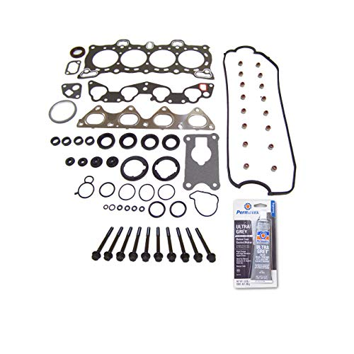 Head Gasket Set Bolt Kit Fits: 88-95 Honda Civic 1.5L SOHC D15B1 D15B2 D15B7 D16A6