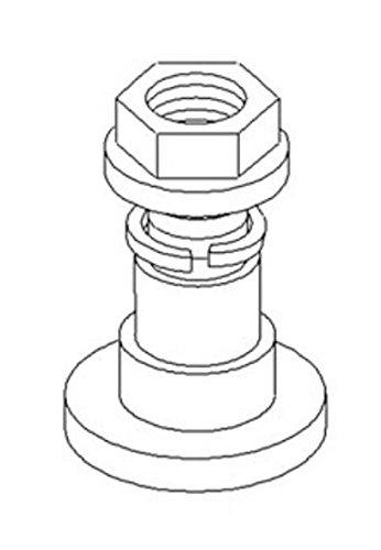 7A6032 Bolt & Nut Made for John Deere Rotary Cutter 1008 1408 1418 1508 506 509 + - John Deere Rotary Cutters