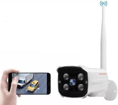 LOOSAFE Cámara IP Exterior HD WiFi Inalámbrica Vigilancia X Cel O Pc
