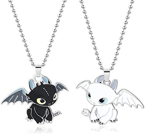 XOFOAO Toothless Necklace Single Sided Cosplay product image