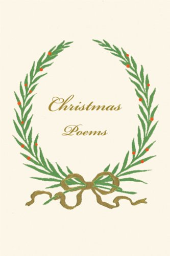 Christmas Poems (New Directions Books) (Christmas M&m Poem)