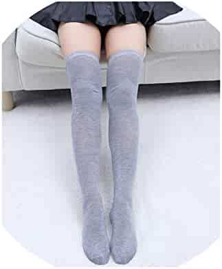 c84c57873 Women Socks Stockings Warm Thigh High Over the Knee Socks Long Cotton  Stockings medias Sexy Stocking