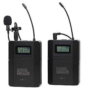 Pixel Professional UHF Wireless Lavalier Microphone