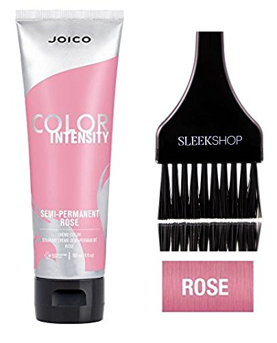 Joico Color Intensity Semi-Permanent Creme Hair Color (with Sleek Tint-Brush) (Rose) by Color Intensity by Joico