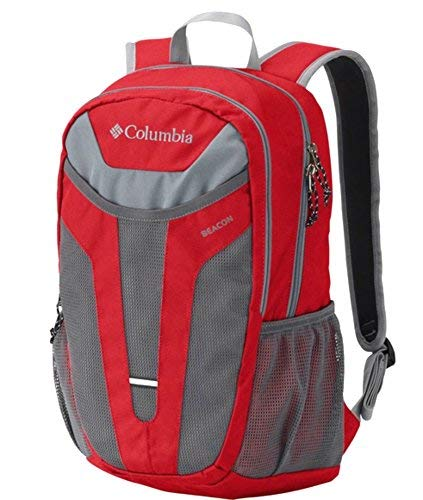 Columbia Beacon Daypack Backpack (Red, O/S)