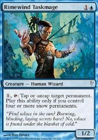 Magic: the Gathering - Rimewind Taskmage - Coldsnap
