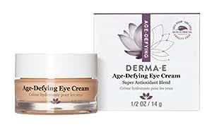 Amazon.com: DERMA E Age-Defying Antioxidant Eye Cream Anti