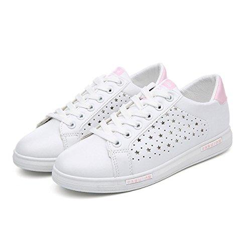 La Sra CHT Hueco Zapatos De Primavera Y Otoño Ocasionales De Los Deportes Pink