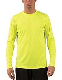Vapor Apparel Men's UPF 50+ Long Sleeve UV (Sun) Protection Performance T-Shirt