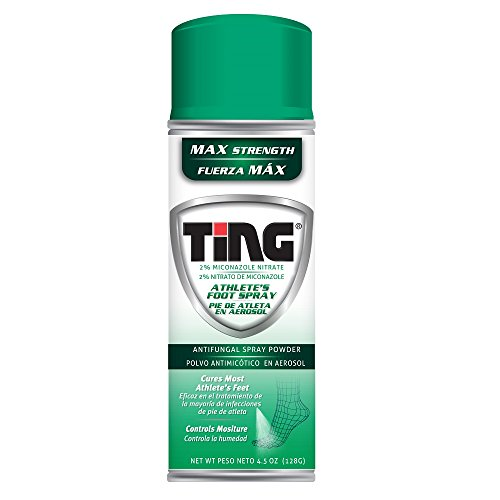 Ting Foot Health Care Spray Powder, 4.5 Ounce Pack of (Care Foot Spray)