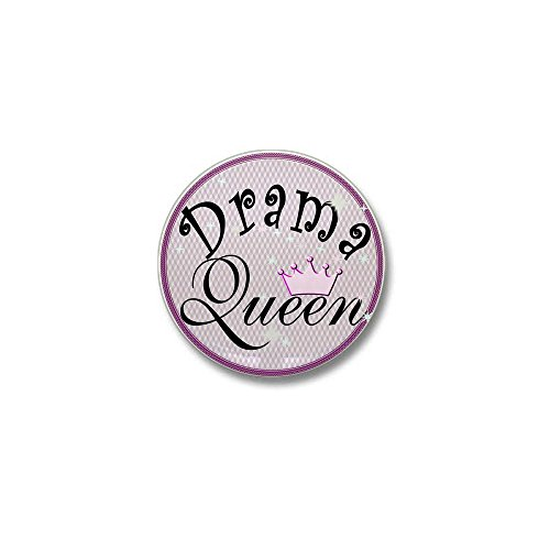 CafePress Drama Queen Mini Button 1