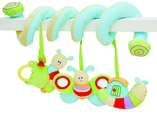 (Little Bird Told Me Soft Activity Spiral Baby Toy, One Size)