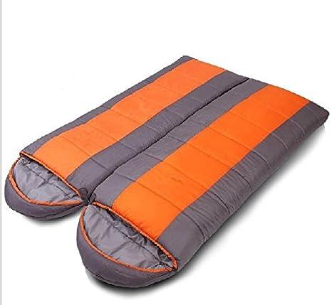 Dormir al Aire Libre del Invierno Bolsa de Dormir de algodón Bolsa Sobre un Saco de Dormir Puede Luchar Entre sí: Amazon.es: Deportes y aire libre