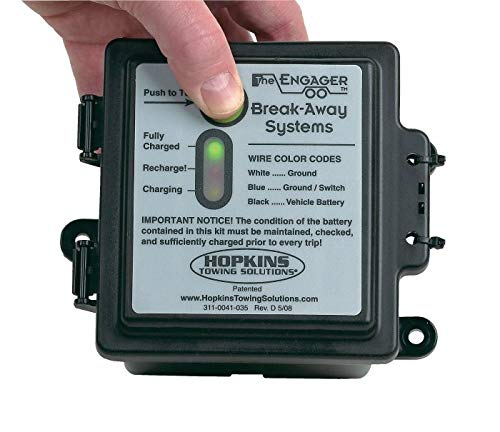 Hopkins 20100 Engager Break Away Kit with LED Battery Monitor by Hopkins Towing Solutions