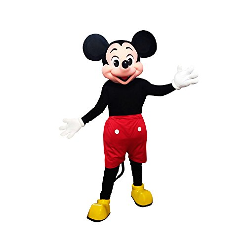KF Mickey Mouse Mascot Costume Adult Size Halloween Cosplay Clubhouse