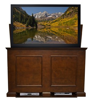 tv hideaway furniture. Touchstone 74008 Grand Elevate TV Lift Cabinet For TVs Up To 65\u0026quot;, Espresso Tv Hideaway Furniture
