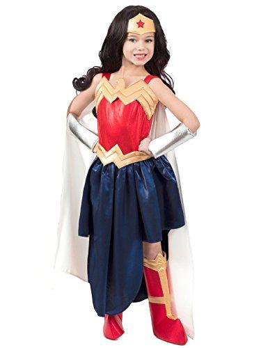 Super Hero Girls Premium Wonder Woman Child Costume - X-Large
