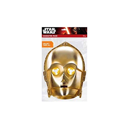 Mask-erade C-3PO Facemask � Costume Accessory for sale  Delivered anywhere in USA