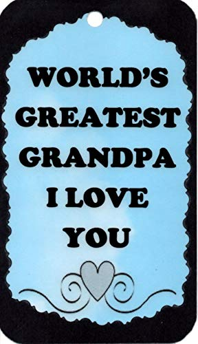 Ron's Hang Ups Inspirational Signs World's Greatest Grandpa I Love You Plaques Sayings Christian Friendship Family Funny Comic Gifts