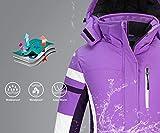 Wantdo Women's Winter Ski Jacket Fleece Snow Coat