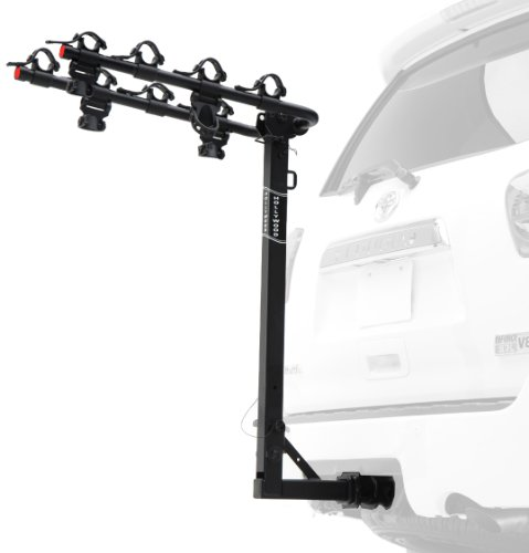 Hollywood Racks HR8000 Traveler 4-Bike Hitch Mount Rack (2-Inch Receiver)