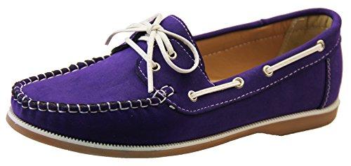 Womens Shoreside Deck Shoes Purple u9Guv