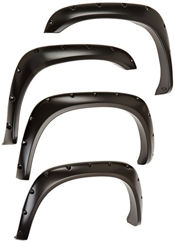 Bushwacker 50907-02 Dodge Pocket Style Fender Flare, 2002 to 2008 Ram 1500, 2003 to 2009 Ram 2500, 2003 Ram 3500 ()