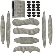 Harrianna Helmet Padding Kits,27pcs Bicycle Motorcycle Helmet Sponge Replacement Foam Pads Set