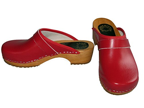 Clogs Rosso Handewitter rosso Zoccoli donna Oqnxw1PAT