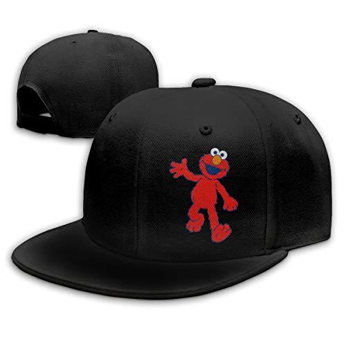 ALWAYSUV Female & Mens Unisex Hats 3D Print with Elmo's World Fashion Dad Hat Adjustable ()