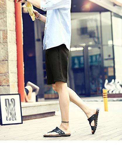 Taille 46eu Flopthongs Version Oudan Confort Qualité Bleu coloré Classique Pantoufles Clair La Améliorée Marron Sandales De Pour Hommes Flip Haute Plage fHYqxYAUw